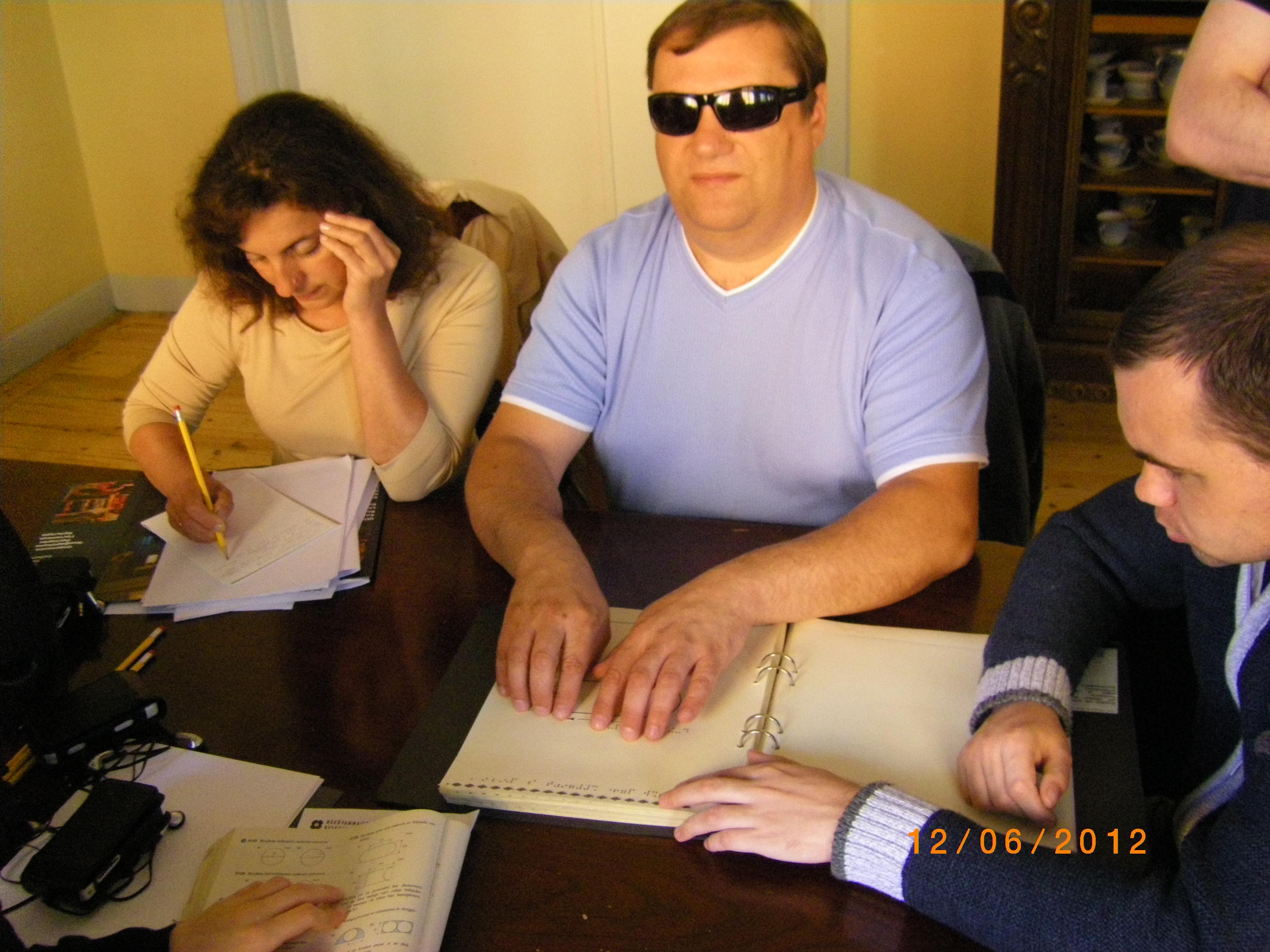 Заняття української делегації в академії Svefi, Швеція у червні 2012 р