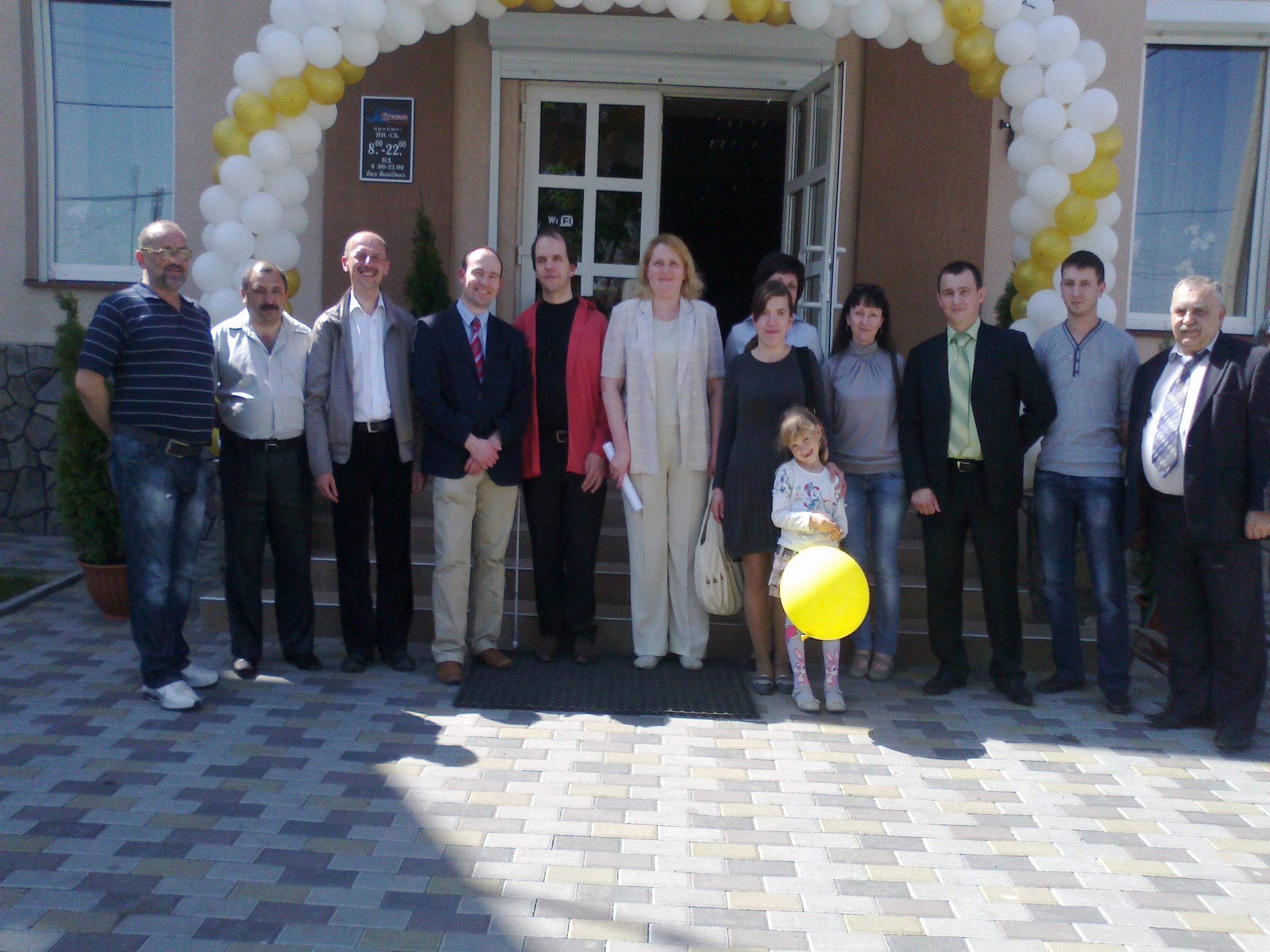 Семінар в Ужгороді 29.04.2012 р. Загальне фото