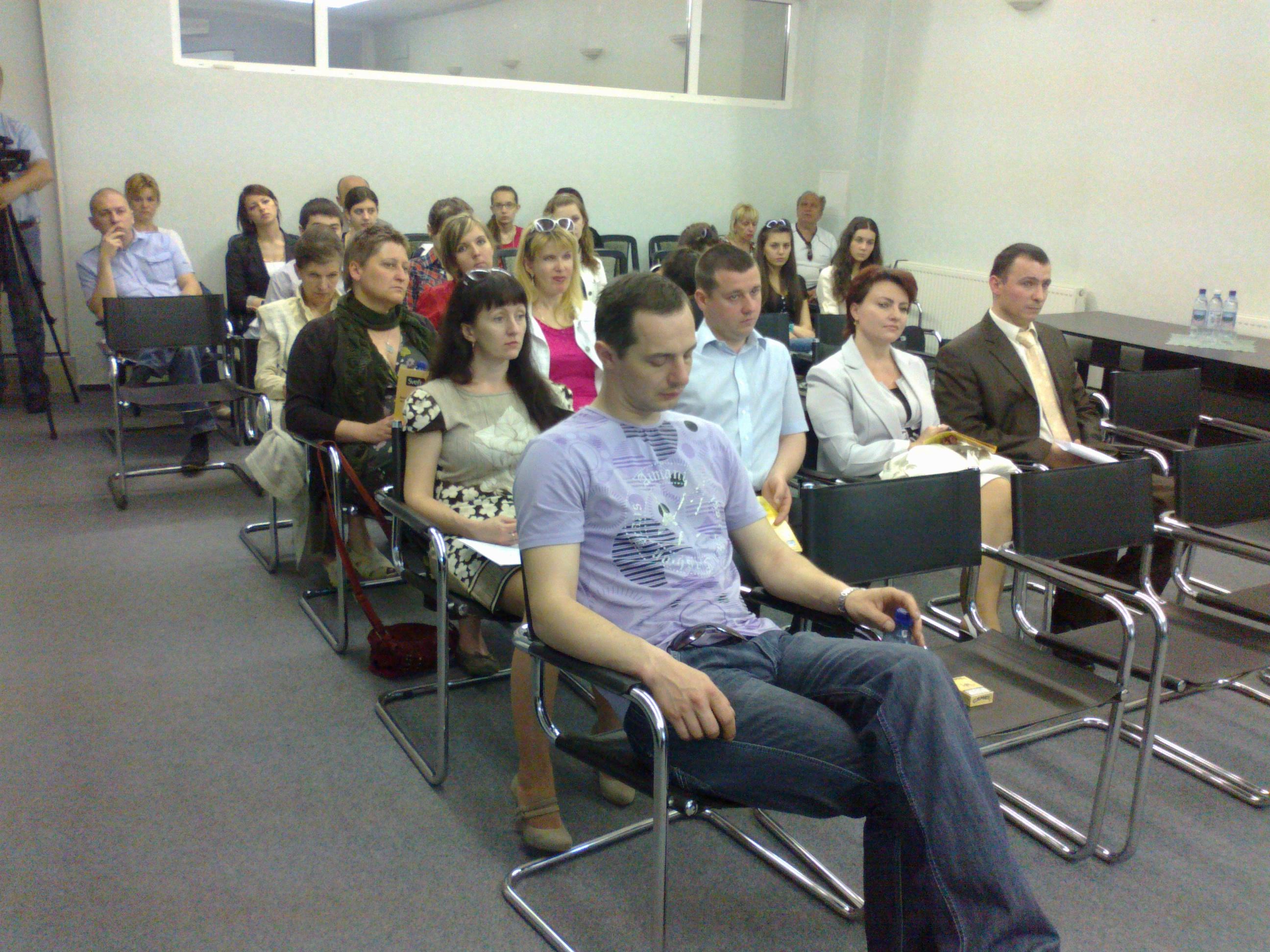 Семінар в Ужгороді 29.04.2012 р. Слухачі семінару
