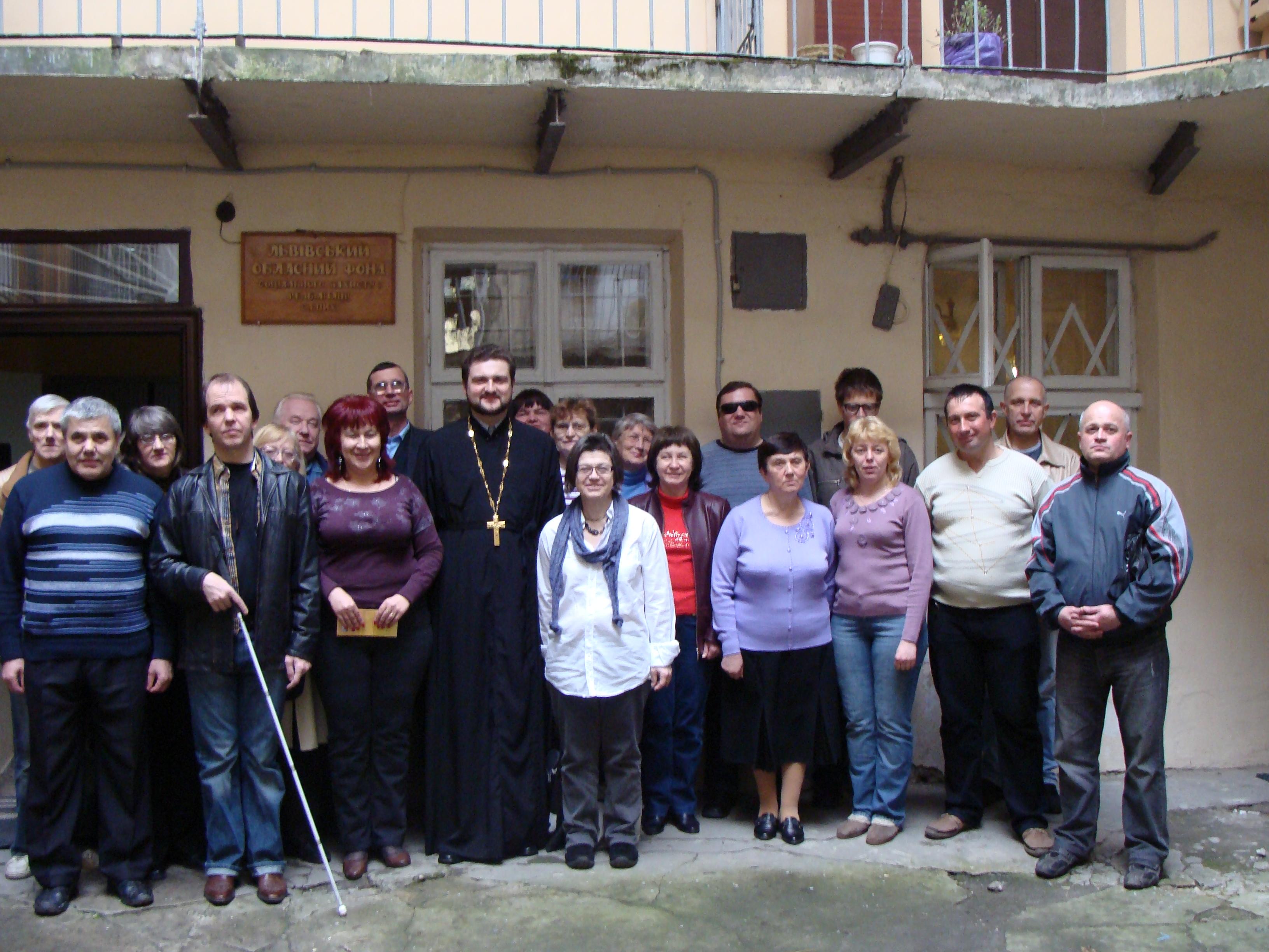 Семінар у Львові 25.04.2012 р. Загальне фото
