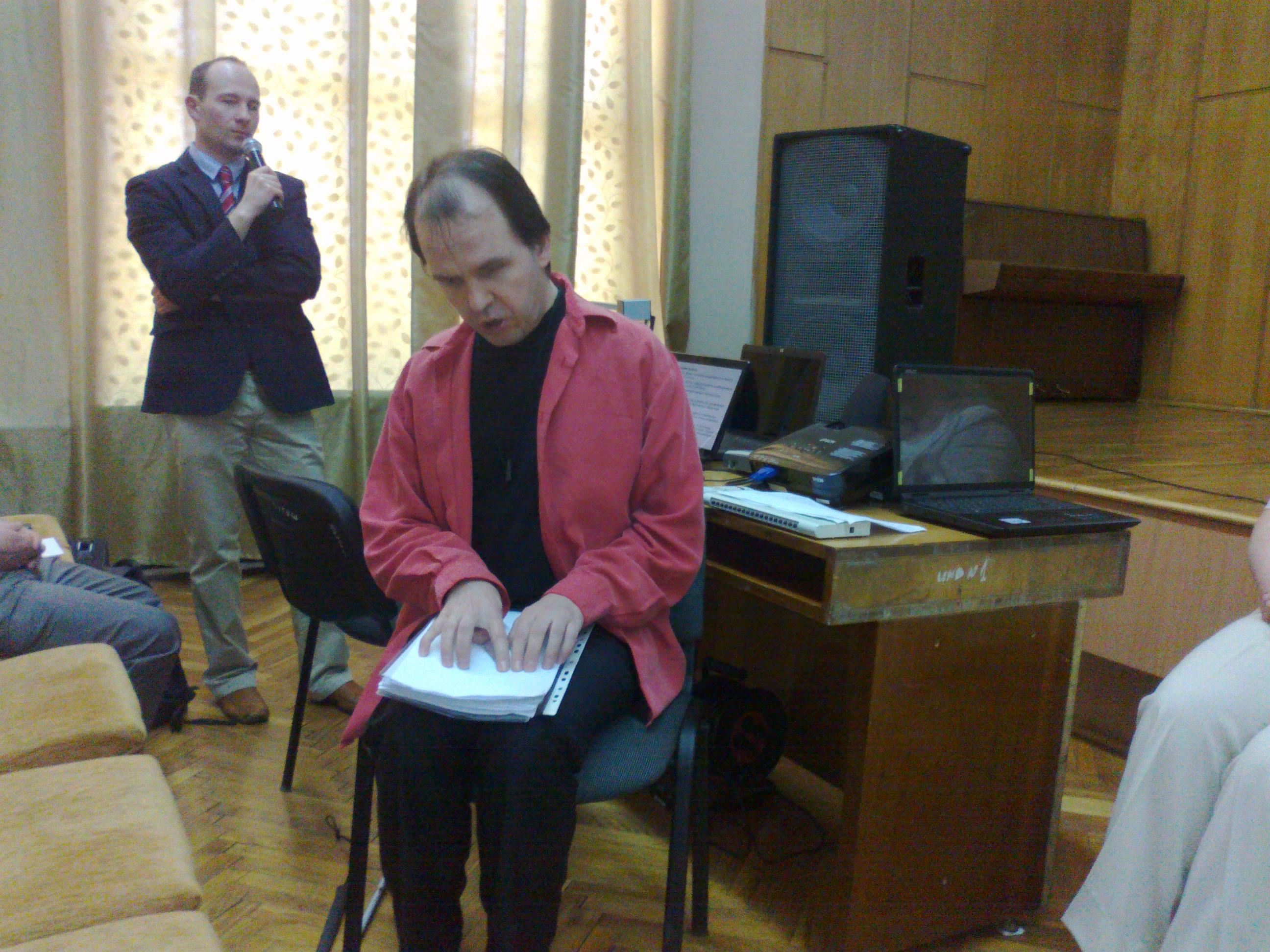 Семінар в Ужгороді 29.04.2012 р. Шведські викладачі