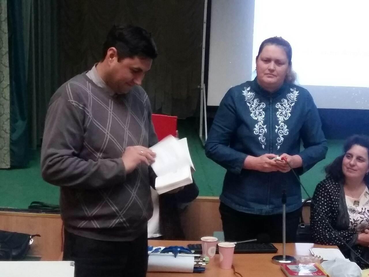 Будинок учителя. Тренінг з дейзі книгою. Київ, 15.02.2017 р