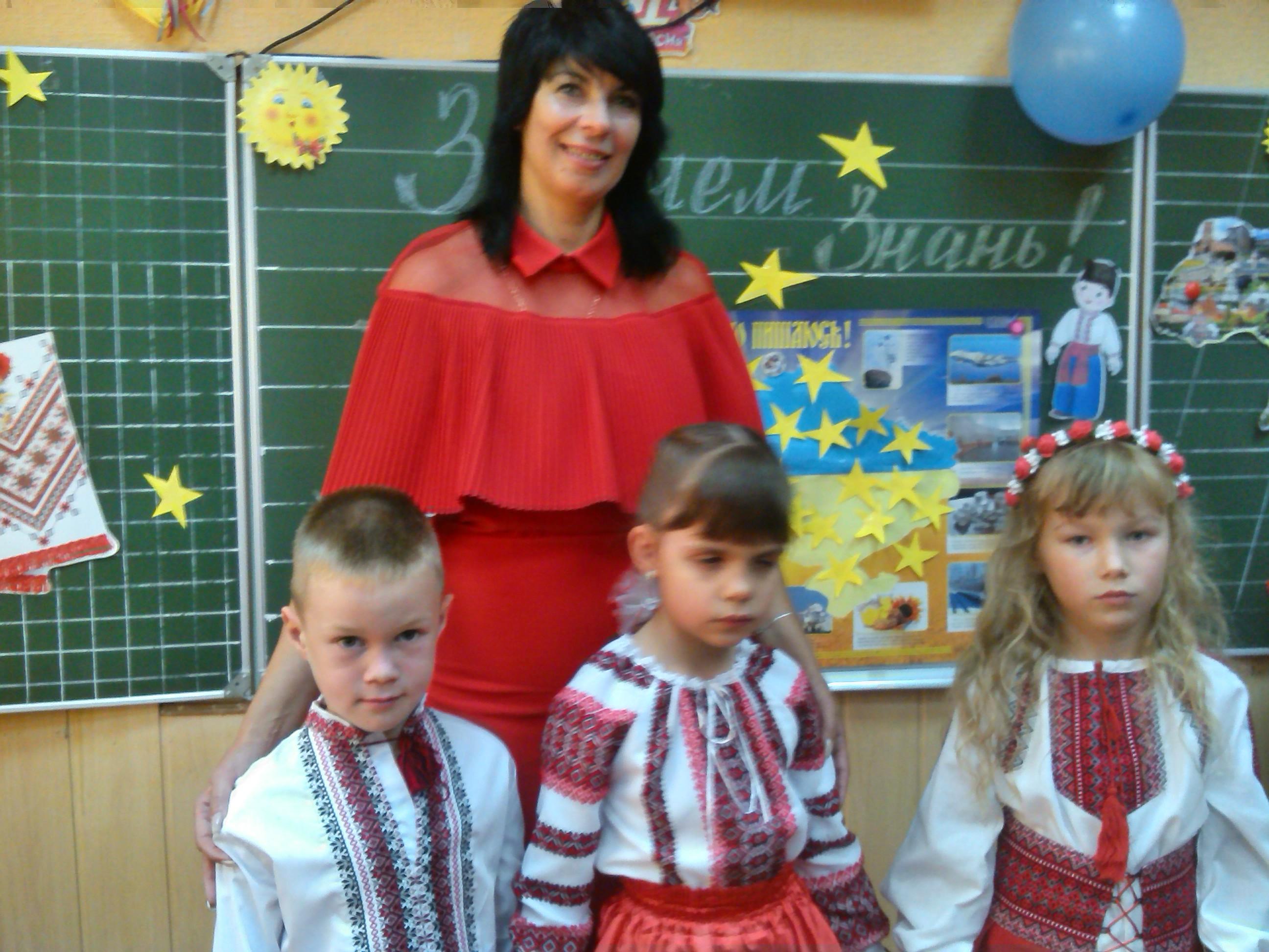 Діанка Петрів у 1-му класі, Луцьк