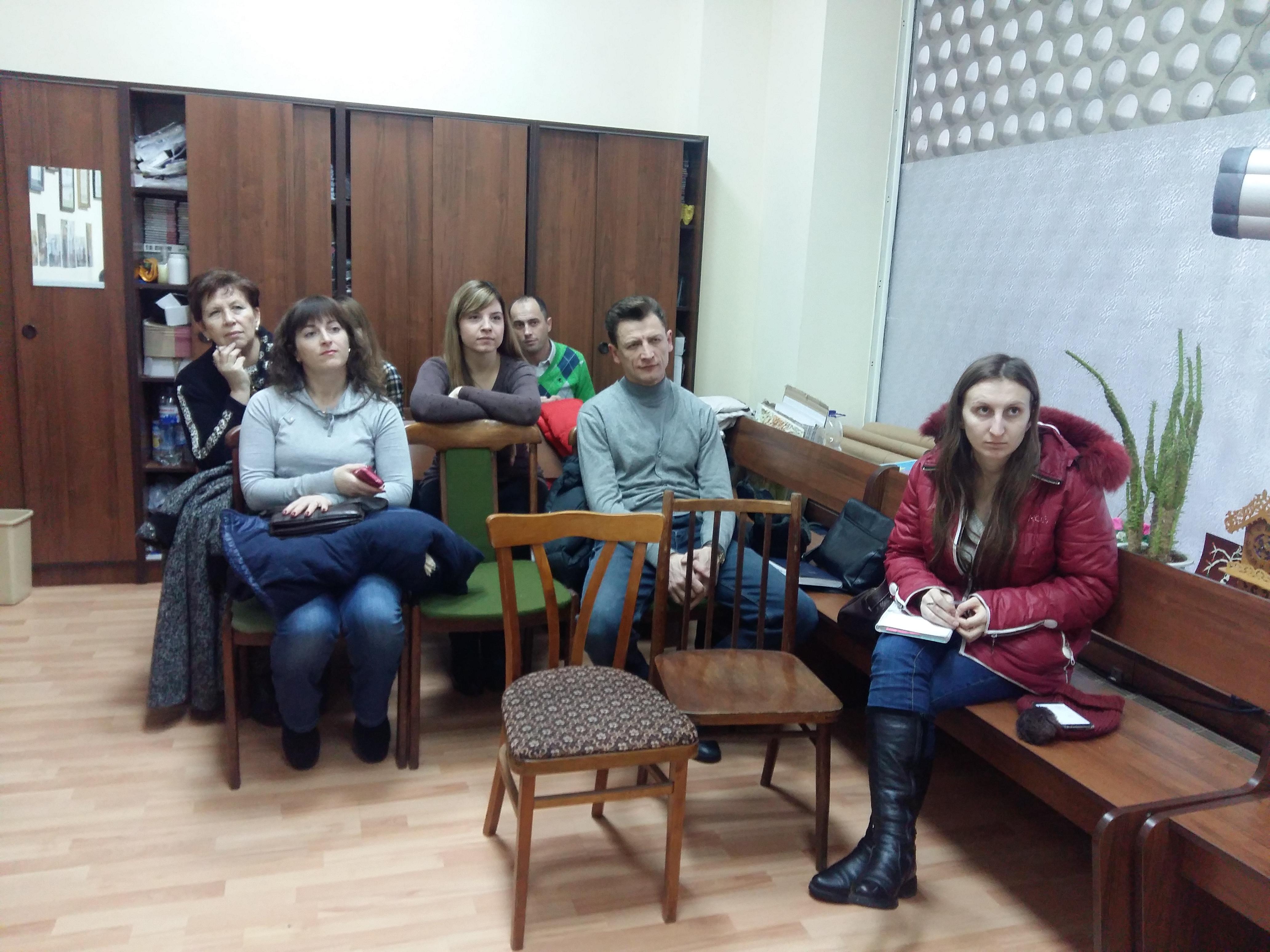 Майстер-клас для волонтерів з аудіювання літератури в студійних умовах